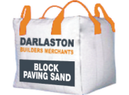 Aggregates: Block paving sand bulk bag