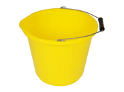 Bricklaying accessories: Builders bucket 5ltr heavy duty