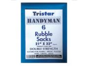 Bricklaying accessories: Rubble sacks double strength