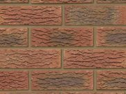 65mm facing brick range: Dorket fireglow 65mm facing brick