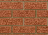 65mm facing brick range: Manorial red rustic 65mm facing brick