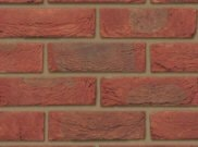 65mm facing brick range: Bradgate claret red 65mm facing brick