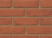 65mm facing brick range: Bradgate red 65mm facing brick