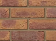 65mm facing brick range: Bradgate golden purple 65mm facing brick