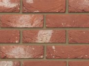 65mm facing brick range: Ivanhoe mellow red 65mm facing brick