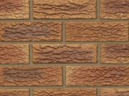 65mm facing brick range: Dorket honeygold 65mm facing brick