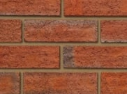 65mm facing brick range: Calderstone russett 65mm facing brick