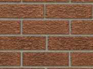 65mm facing brick range: Tyne red bark 65mm facing brick