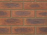 65mm facing brick range: Welbeck autumn antique 65mm facing brick