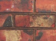 73mm brick range: Reclaimed red 73mm imperial brick