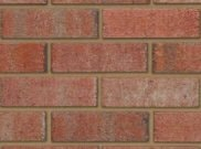 65mm facing brick range: Chillingham red blend 65mm facing brick