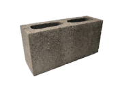 Concrete blocks: 100mm concrete hollow block 100mm x 215mm x 440mm