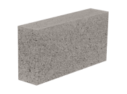 Concrete blocks: 100mm solid concrete block 100mm x 215mm x 440mm
