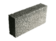 Concrete building blocks: Solite 100mm solid concrete block Ultra lite 3.6n