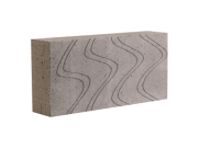 Concrete blocks: 100mm toplite thermal block 100mm x 215mm x 440mm