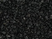 Decorative chippings, gravels & pebbles: Black chippings Bulk bag