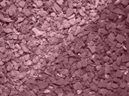 Decorative chippings, gravels & pebbles: Crushed slate plum 25kg bag