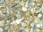 Decorative chippings, gravels & pebbles: Ocean flint 20mm-40mm 25kg bag