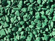 Decorative chippings, gravels & pebbles: Green gravel 25kg bag