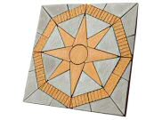 Circle/square & circle paving kits: Lakeland star Paving pack