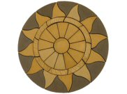 Circle/square & circle paving kits: Aurora sun circle 2.56mtr paving pack