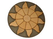 Circle/square & circle paving kits: Aurora circle Paving pack 1.8mtr