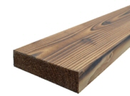 Decking components accessories kits: Brushwood decking 3600m x 150mm x 50mm