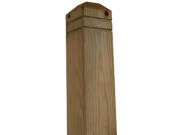 Decking components accessories kits: Pattrice newel post 74mm x 74mm x 1250mm