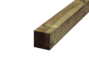 Decking components accessories kits: Treated decking bearer 75mm x 75mm 2.4mtr