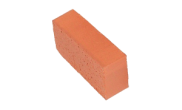Edgings: Red single brick edging 215mm x 102mm 65mm
