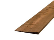 Fence posts accessories: Treated featheredge 1.8mtr