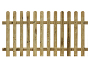 Fence panels, trellis & gates: Palisade fence kit 900mm x 1800mm