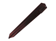 Fence posts accessories: Metal post support spike brown 100x100mm