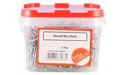 Nails: Round wire nail 40mm tub
