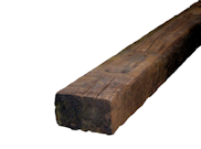 Garden sleepers: Reclaimed railway sleepers 2590mm