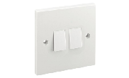 Electrical products: Wall switch 2 gang 2 way