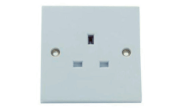 Electrical products: Unswitched socket 1 gang