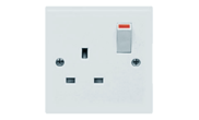 Electrical products: Switched socket 1 gang