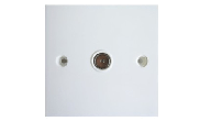Electrical products: Coaxial wall socket