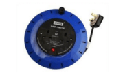 Electrical products: Extension reel 10mtr 2 gang