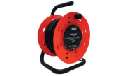 Electrical products: Extension reel 25mtr 4 gang