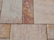 Natural stone paving / indian sandstone paving packs: Rainbow 10.2mtr2 natural stone paving pack
