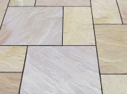 Natural stone paving / indian sandstone paving packs: Tradestone 10.2mtr2 natural stone paving pack