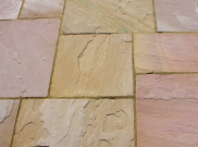 Natural stone paving / indian sandstone paving packs: Modak 10.2mtr2 natural stone paving pack
