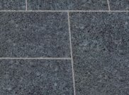 Granite natural stone paving: Textured ash black granite 9.90mtr2 natural stone paving pack