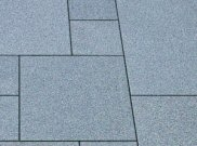 Granite natural stone paving: Textured grey granite 9.90mtr2 natural stone paving pack