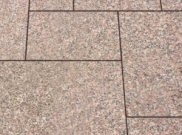 Granite natural stone paving: Rose pink granite 9.90mtr2 natural stone paving pack