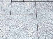 Granite natural stone paving: Quartz grey granite 9.90mtr2 natural stone paving pack