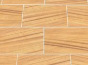 New linear natural stone paving: Linear teakwood 7.68mtr2 natural stone paving kit