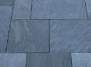 Natural stone paving: Mongolian slate sawn 7.70mtr2 natural stone paving kit